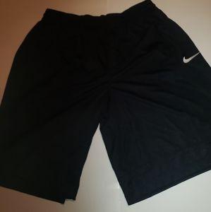 Nike Men's DRI-Fit Basketball Shorts, Blac/White